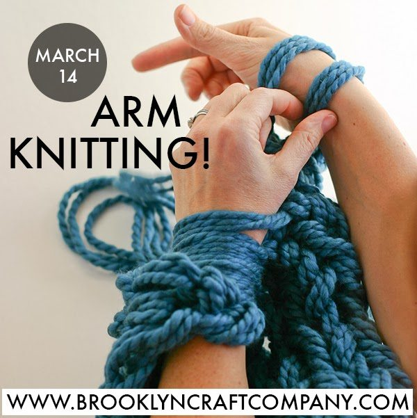 Arm Knitting Tutorial : Comments