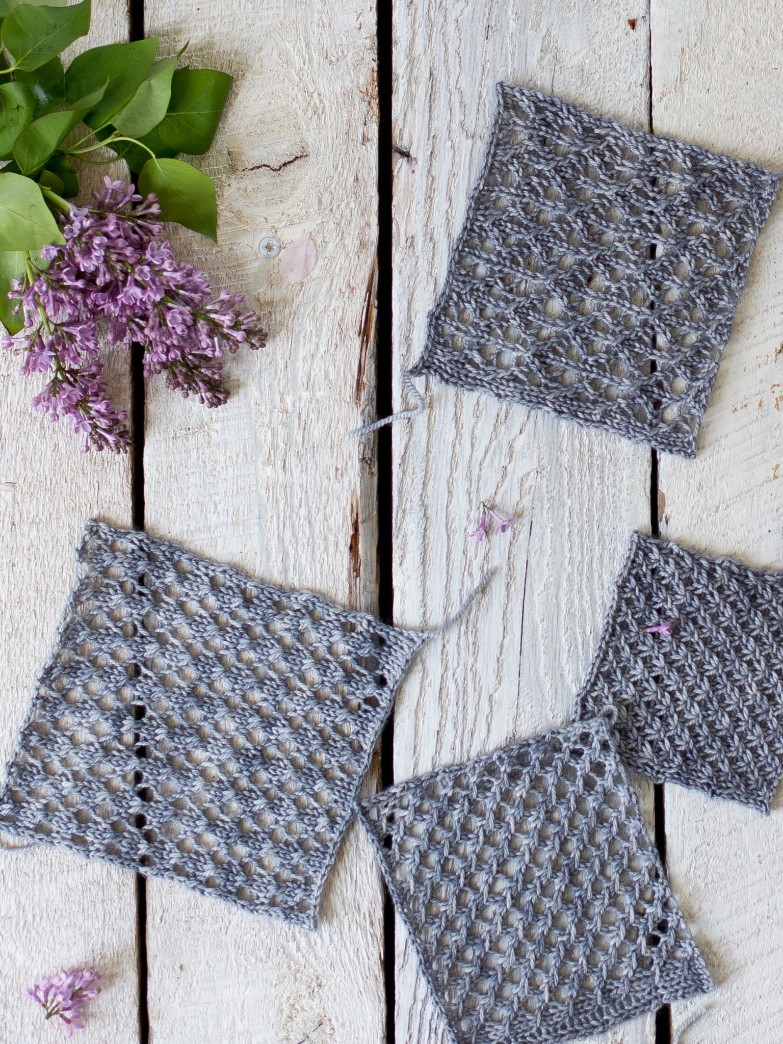 How To Make An Easy Lace Knit Shawl Pattern - Flax & Twine